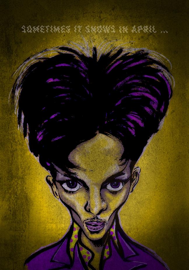 Prince – Karikatur eines Multitalents
