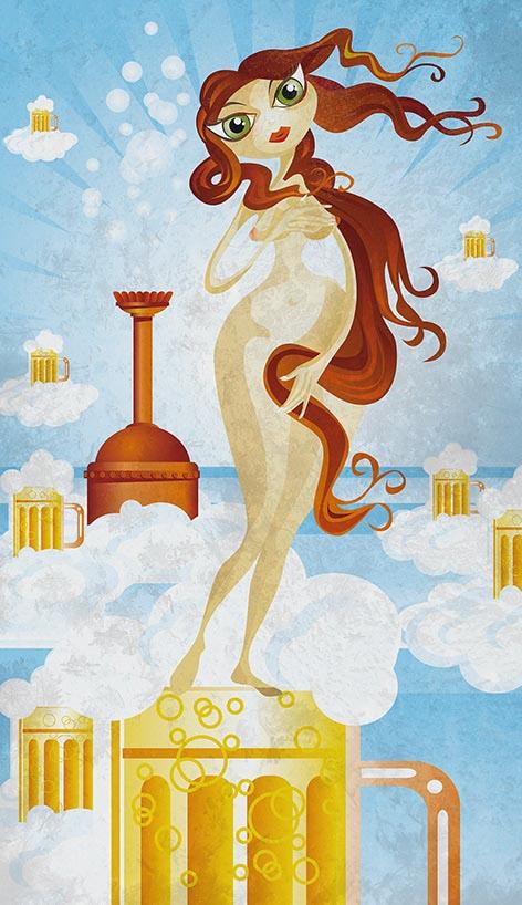 Zaphrodite – die Schaumgeborene