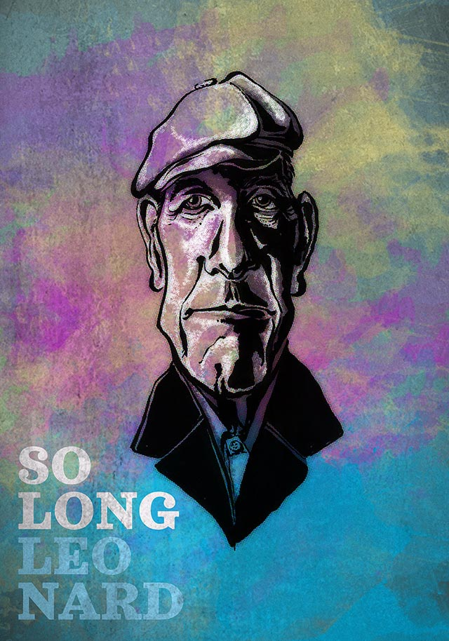 So long Leonard Cohen – hallelujah