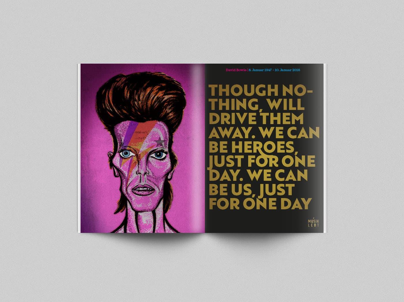 Musik lebt – David Bowie