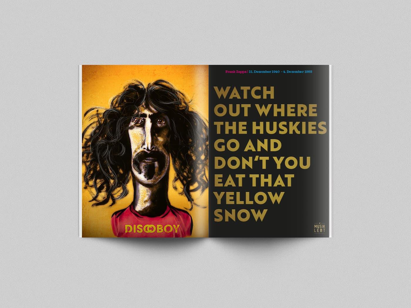 Musik lebt – Frank Zappa