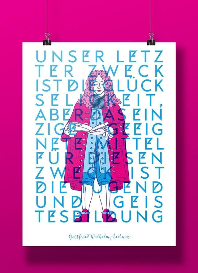 Gottfried Wilhelm Leibniz – Bildung ist alles