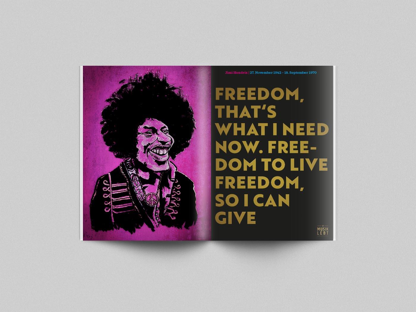 Musik lebt –Jimi Hendrix