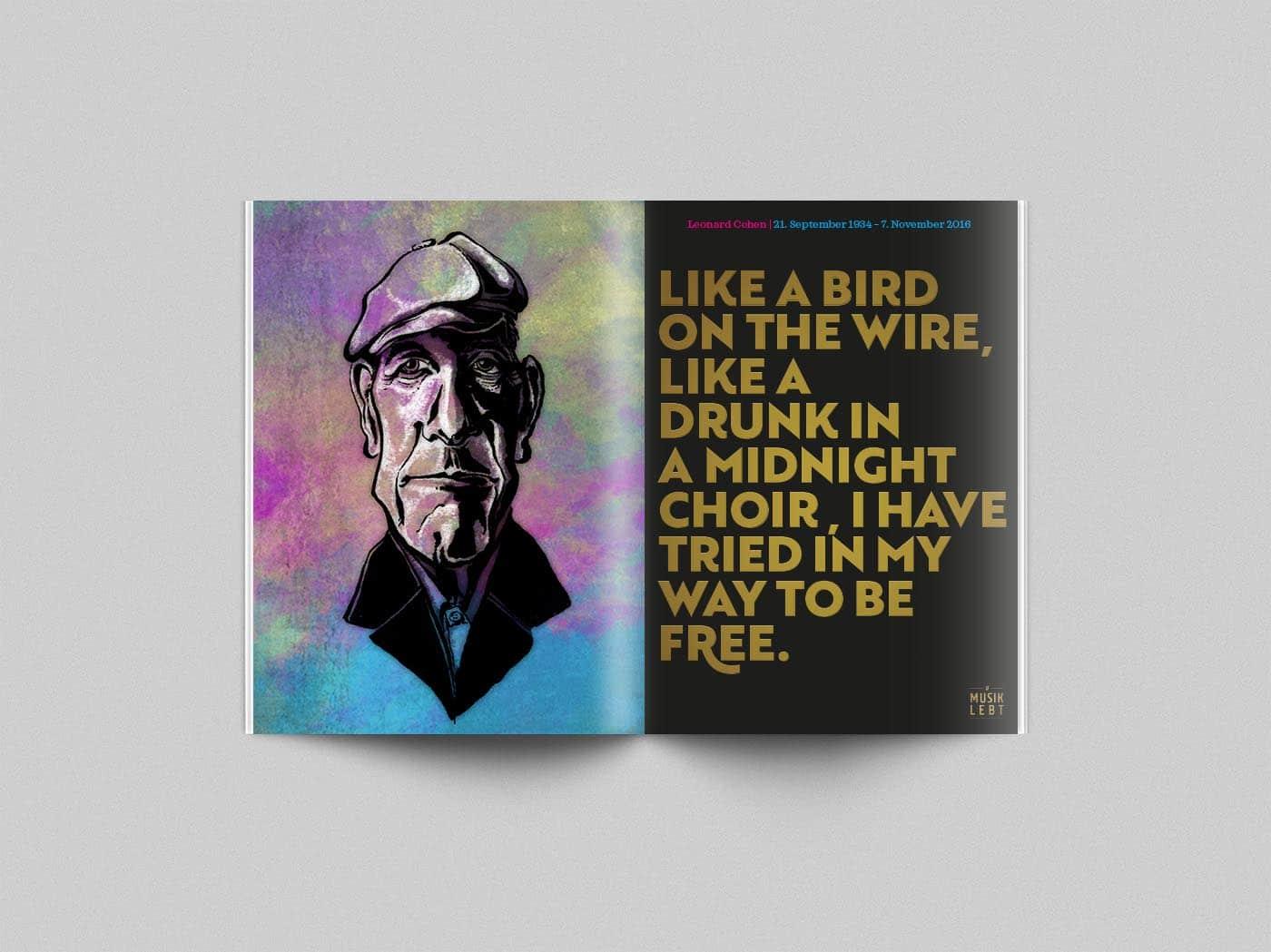 Musik lebt – Leonard Cohen