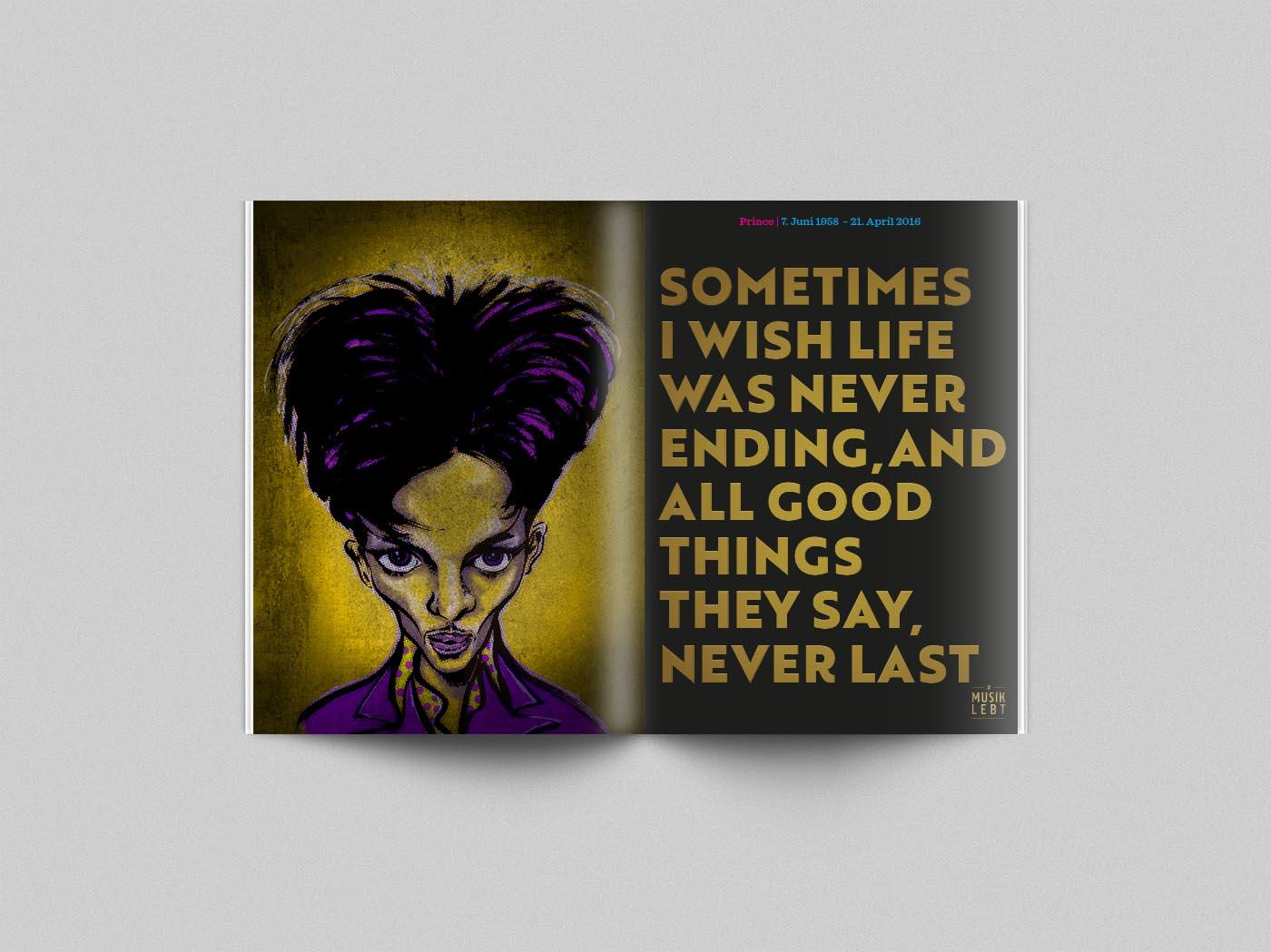 Musik lebt –Prince