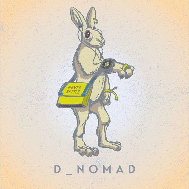 Digital Creatures #4 D_Nomad. Never settle