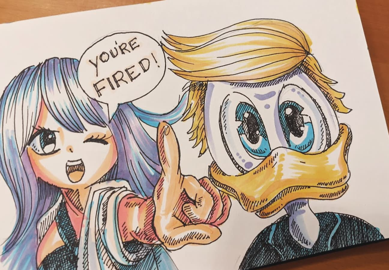 #13 You're fired, kathis art style takeover, coronadoodles